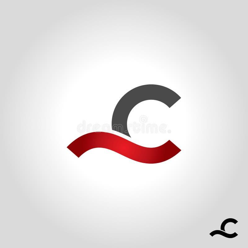 Logo della lettera C royalty illustrazione gratis