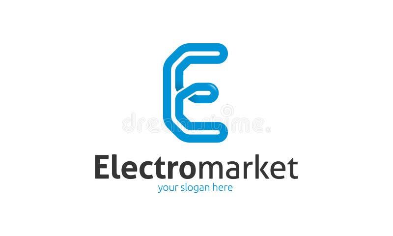 Logo della lettera di E illustrazione di stock