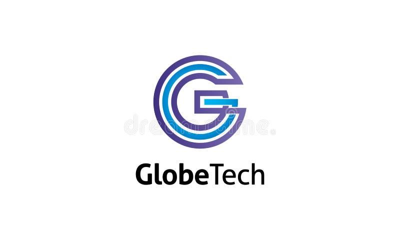 Logo della lettera di G illustrazione vettoriale