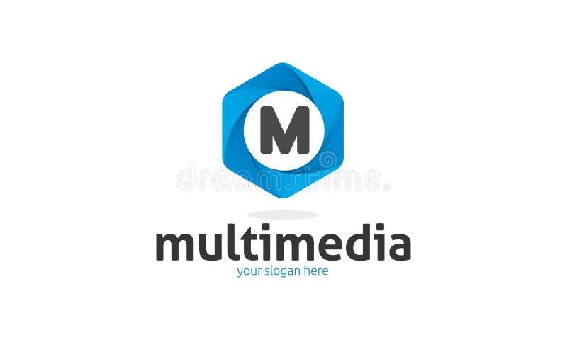 Logo della lettera di m. royalty illustrazione gratis