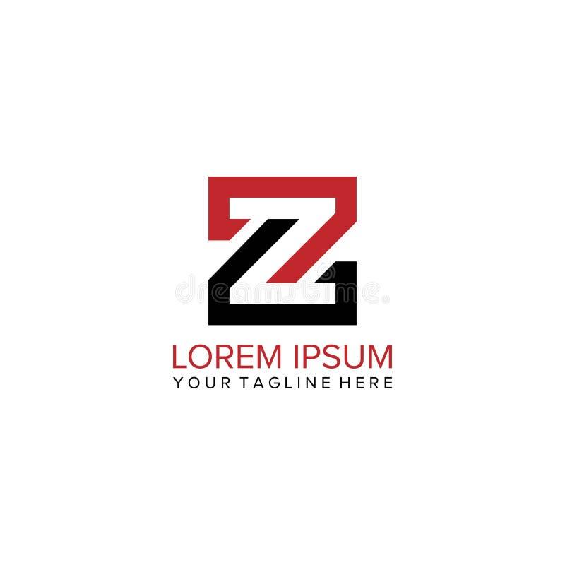Logo della lettera di Z illustrazione di stock