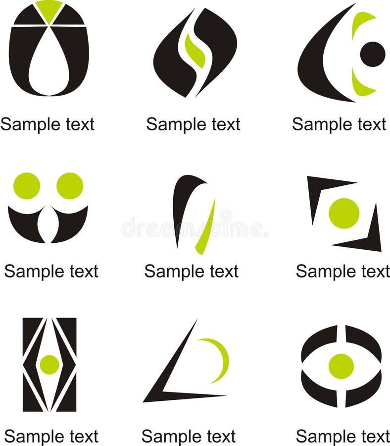Logo della lettera O illustrazione di stock