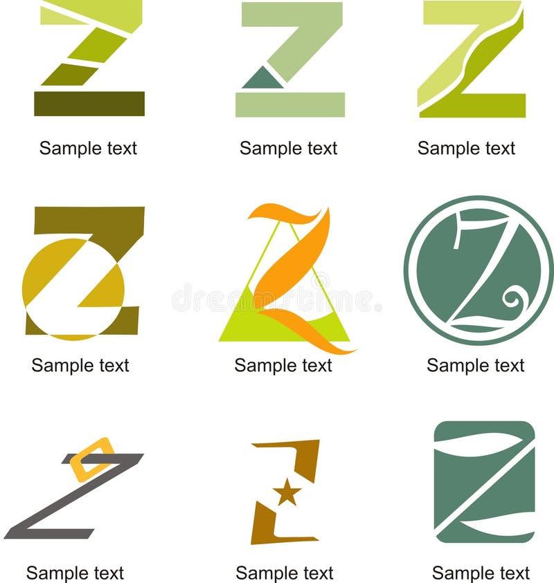 Logo della lettera Z royalty illustrazione gratis