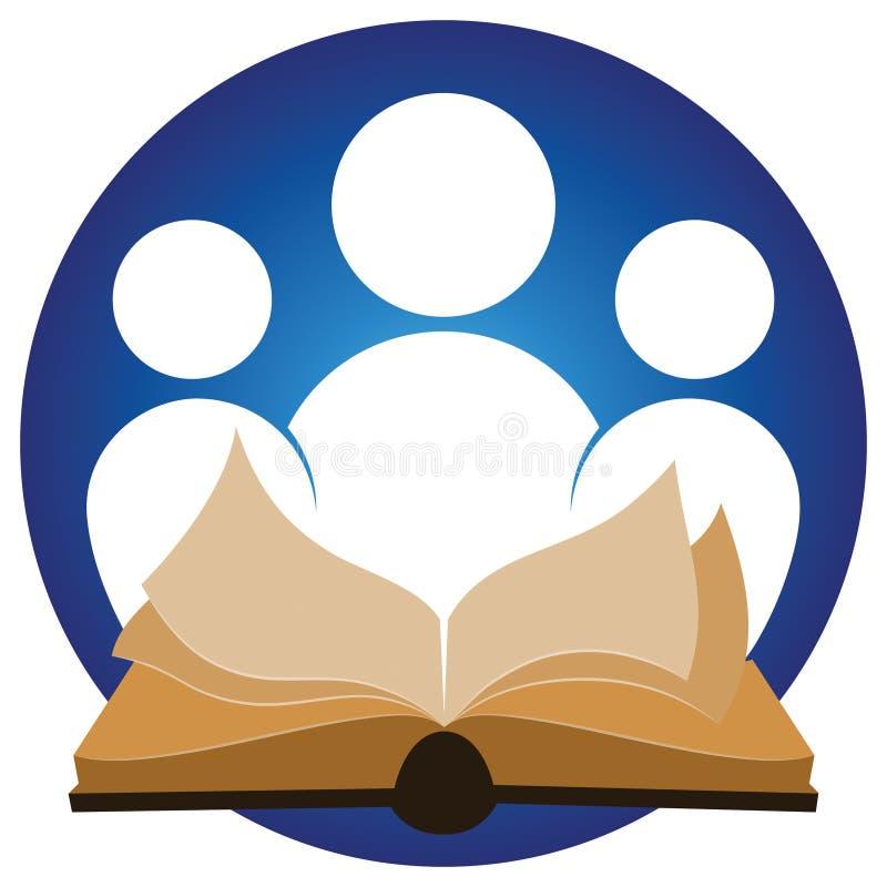 Logo della lettura royalty illustrazione gratis