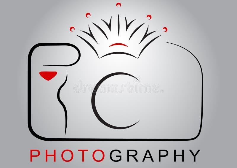 Logo della macchina fotografica fotografia stock libera da diritti