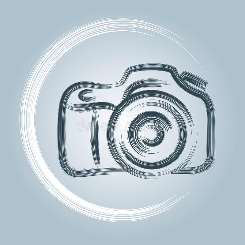 Logo della macchina fotografica illustrazione vettoriale