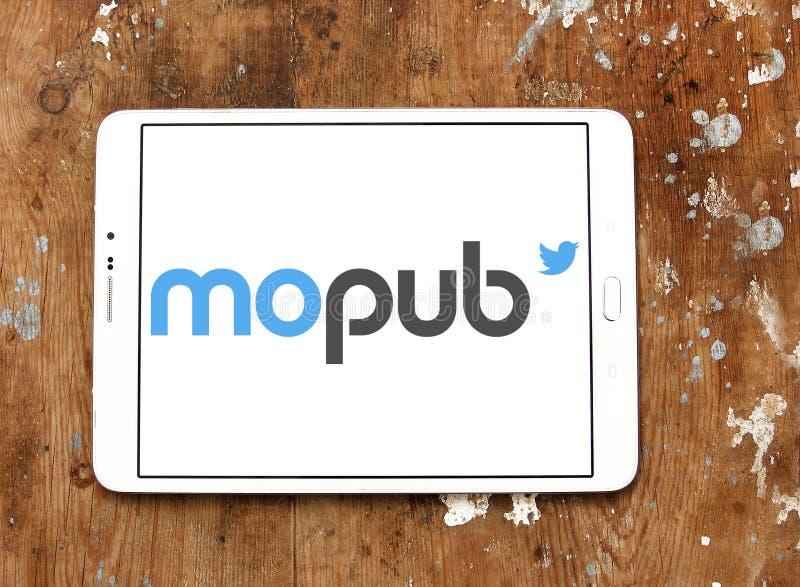 Logo della piattaforma di MoPub fotografia stock libera da diritti