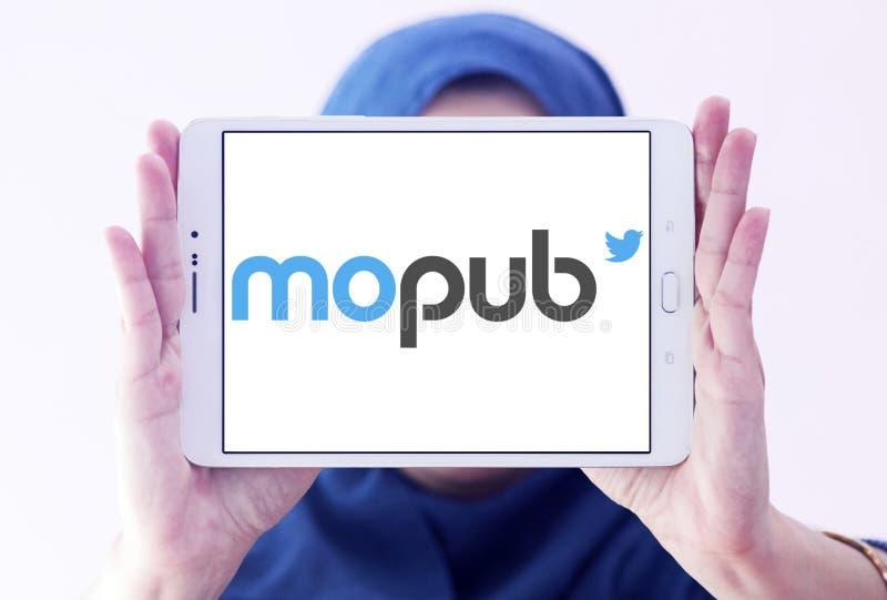 Logo della piattaforma di MoPub immagine stock libera da diritti