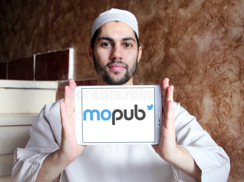 Logo della piattaforma di MoPub immagini stock libere da diritti