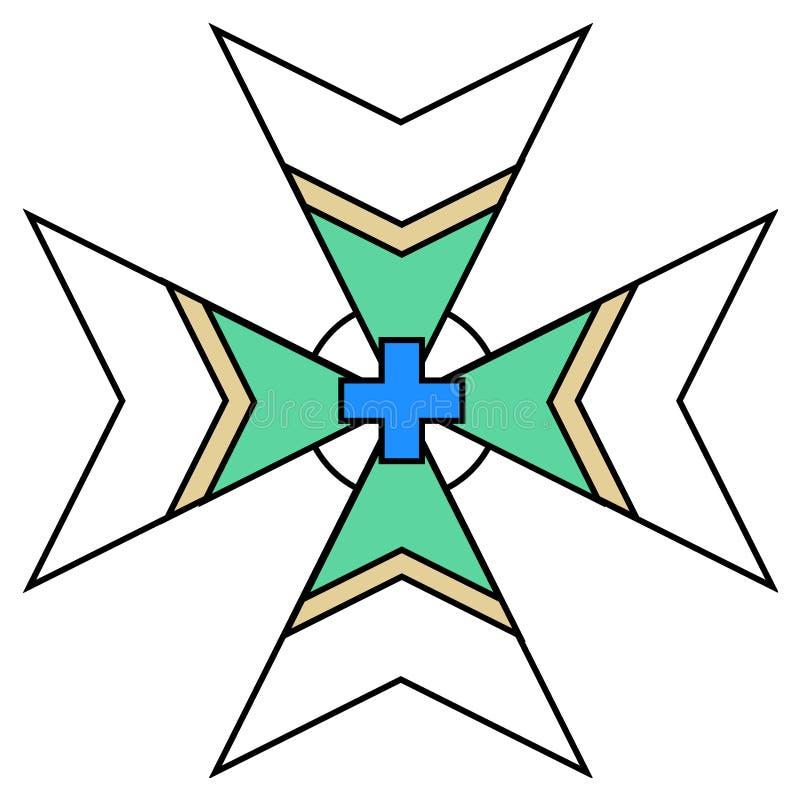 Logo della riunione di positivismo illustrazione vettoriale