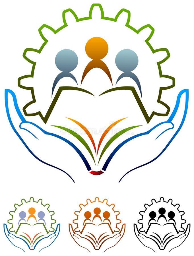 Logo della scuola illustrazione vettoriale