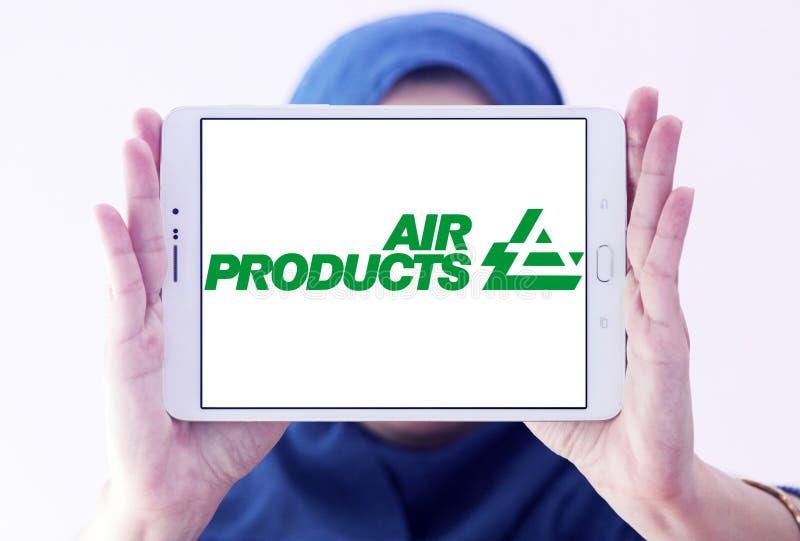 Logo della società di Air Products & Chemicals immagini stock libere da diritti