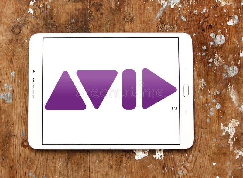 Logo della società di Avid Technology fotografie stock libere da diritti