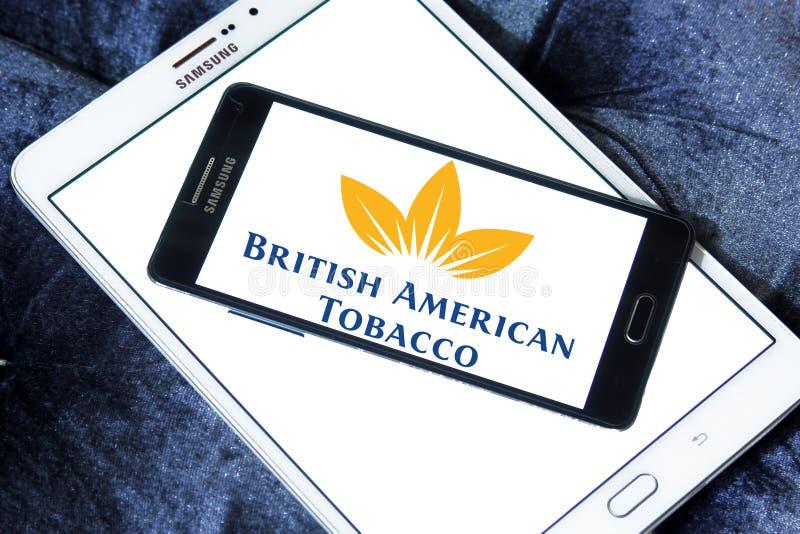 Logo della società di British American Tobacco immagini stock libere da diritti