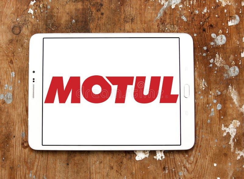 Logo della società di Motul fotografia stock libera da diritti