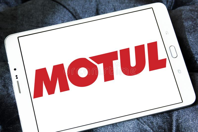 Logo della società di Motul immagini stock libere da diritti