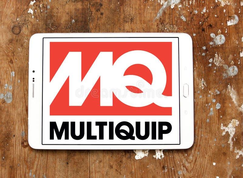 Logo della società di Multiquip fotografia stock libera da diritti