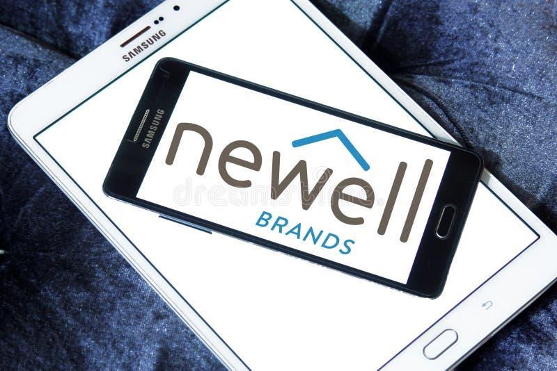 Logo della società di Newell Brands fotografia stock