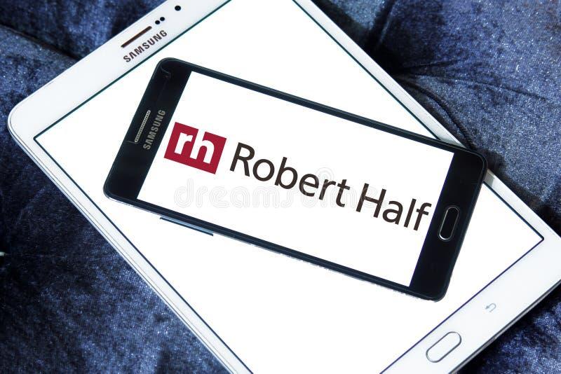 Logo della società di Robert Half International immagine stock