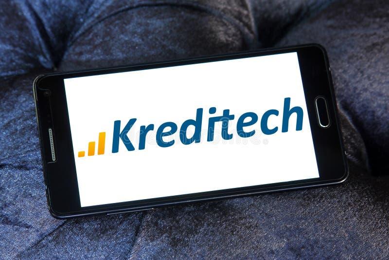Logo della società di servizi finanziari di Kreditech immagini stock libere da diritti