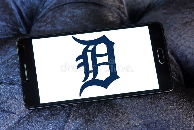 Logo della squadra di baseball di Detroit Tigers fotografia stock libera da diritti