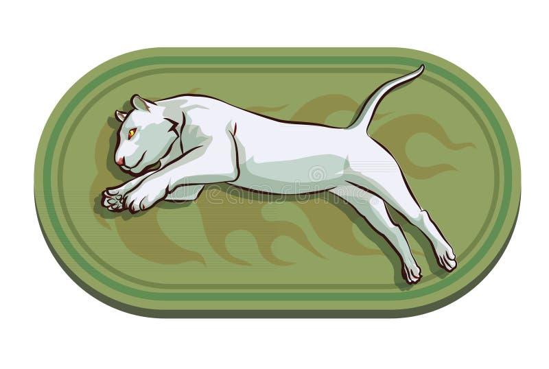 Logo della tigre illustrazione di stock