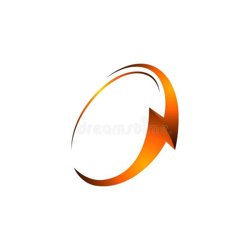 Logo des Donners 3D Beleuchtungsbolzenlogo Elektrisches Logodesign Schablonenelement Ikone des Gefahrenlichtenergiespannungsblitz stock abbildung