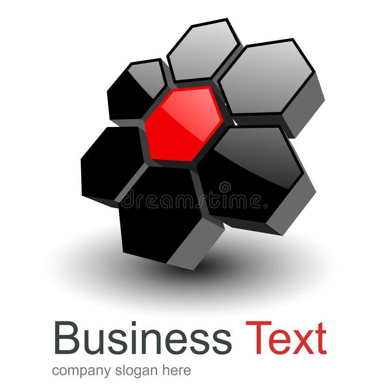 Logo design royalty free illustration