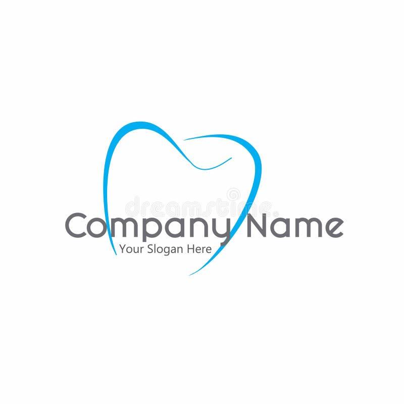 Logo Design dentaire photographie stock