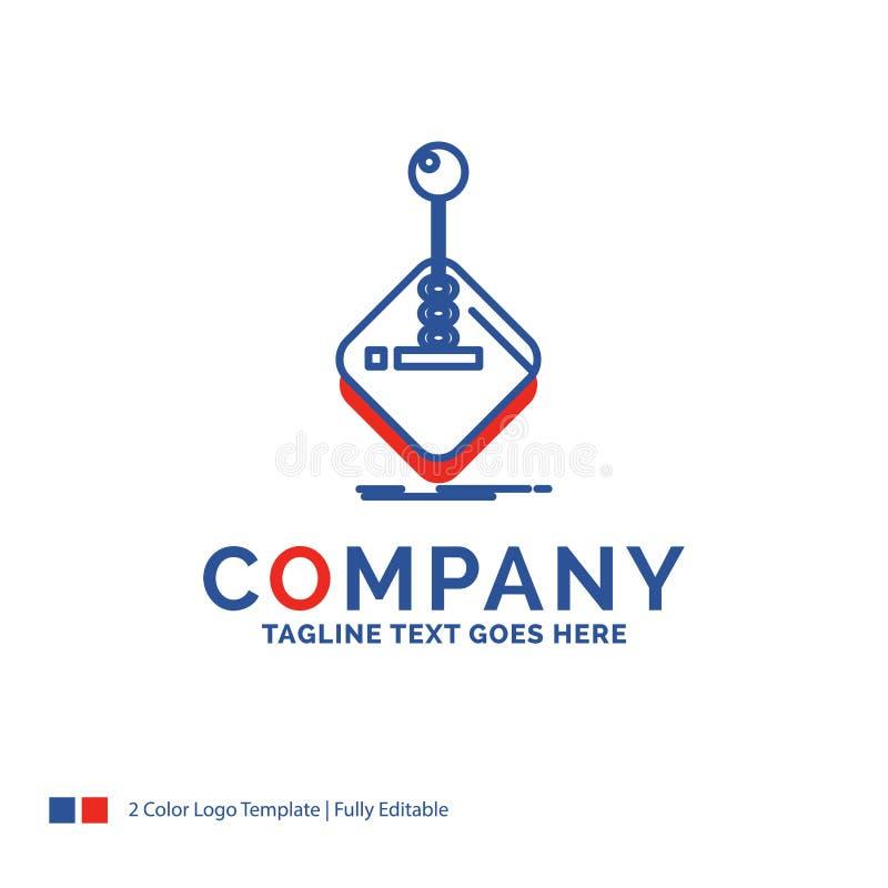 Logo Design For för företagsnamn galleri, lek, dobbel, styrspak, sti vektor illustrationer