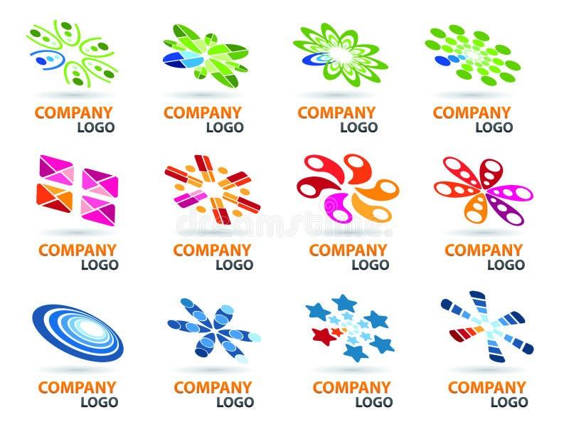 Logo Design Set stock illustration