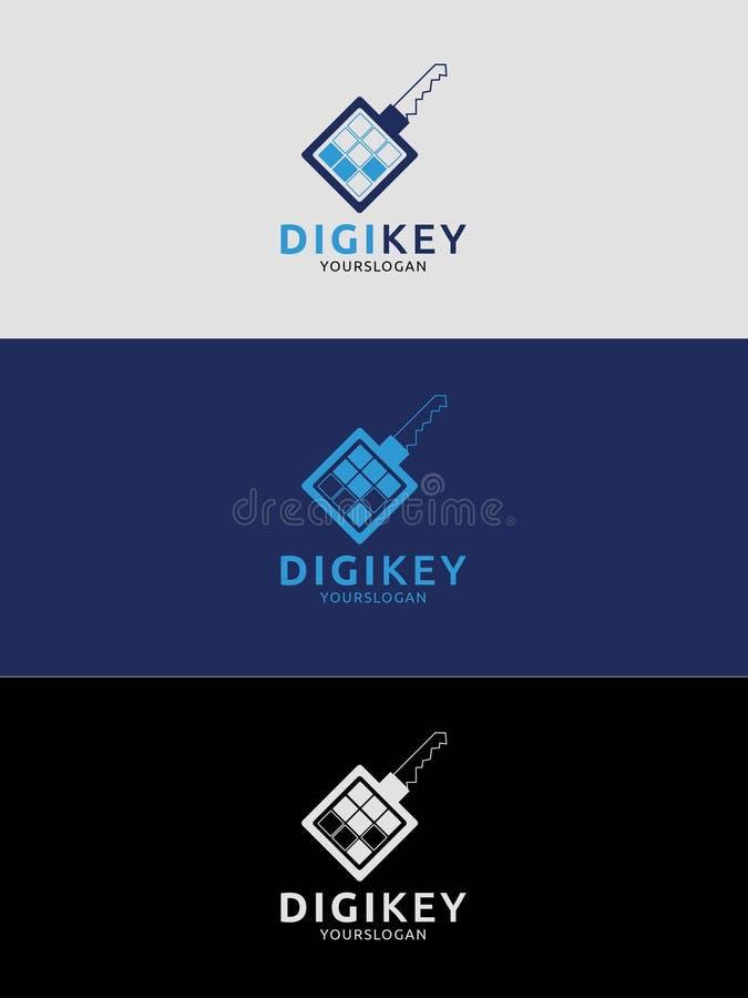 Logo Design Template impressionante, potete usare questo logo per tutto l'affare immagine stock
