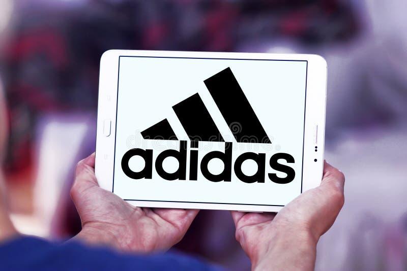 Logo di Adidas immagini stock