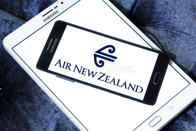 Logo di Air New Zealand fotografia stock libera da diritti
