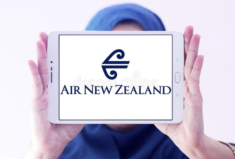 Logo di Air New Zealand fotografie stock libere da diritti