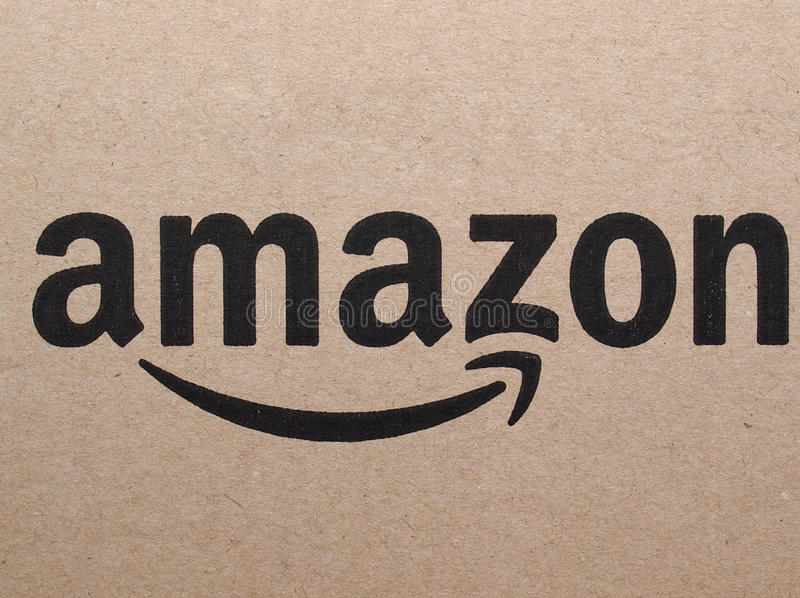 Logo di Amazon immagini stock