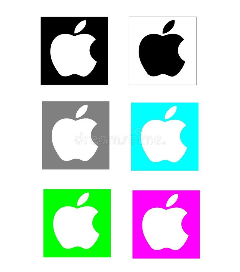 Logo di Apple illustrazione di stock