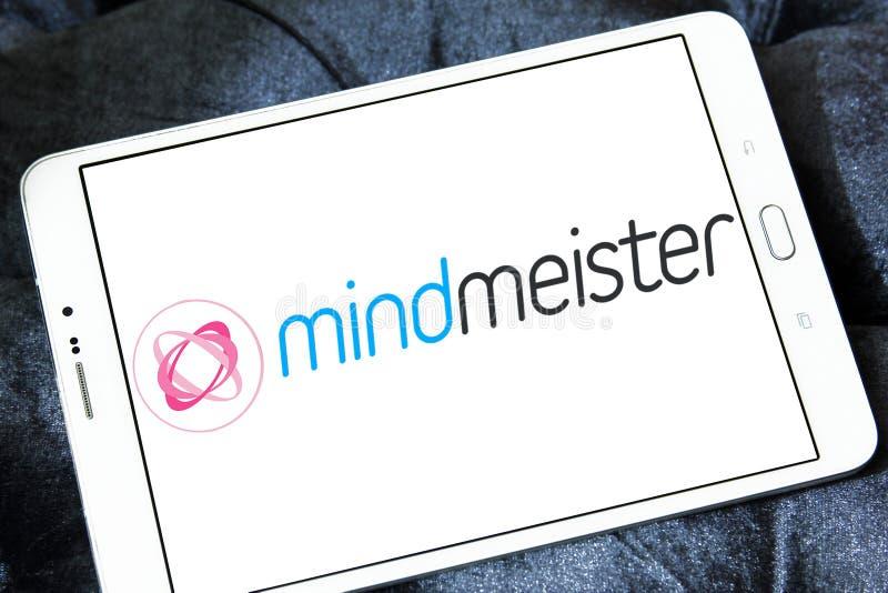 Logo di applicazione di tracciato di mente di MindMeister immagine stock libera da diritti