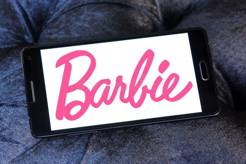 Logo di Barbie fotografie stock