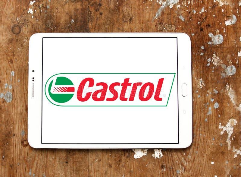 Logo di Castrol fotografia stock libera da diritti