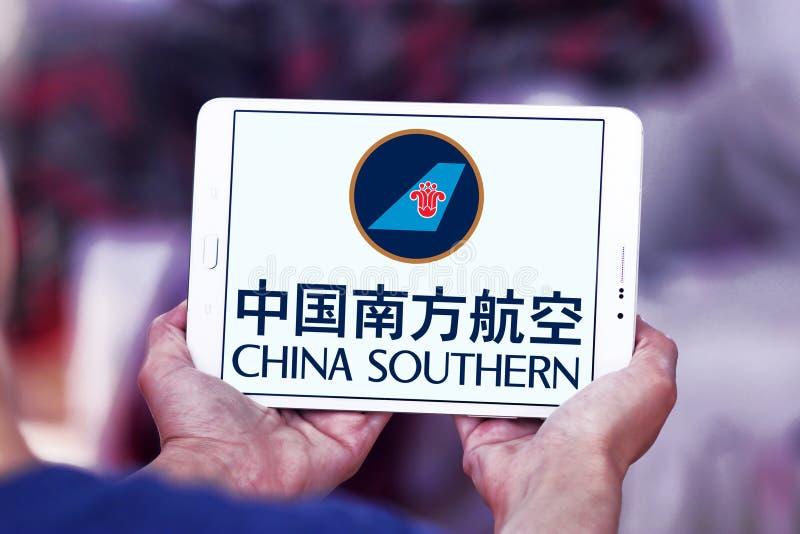 Logo di China Southern Airlines fotografia stock