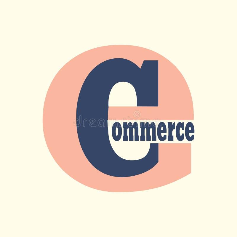 Logo di commercio elettronico royalty illustrazione gratis
