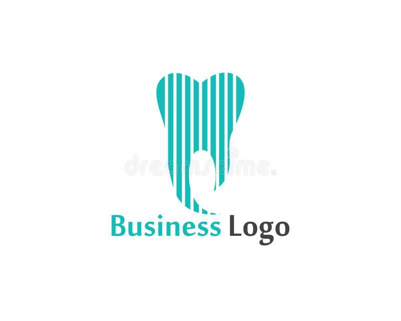 Download Logo Di Cure Odontoiatriche E Modello Di Vettore Di Simboli Illustrazione Vettoriale - Illustrazione di assegno, molare: 117977181