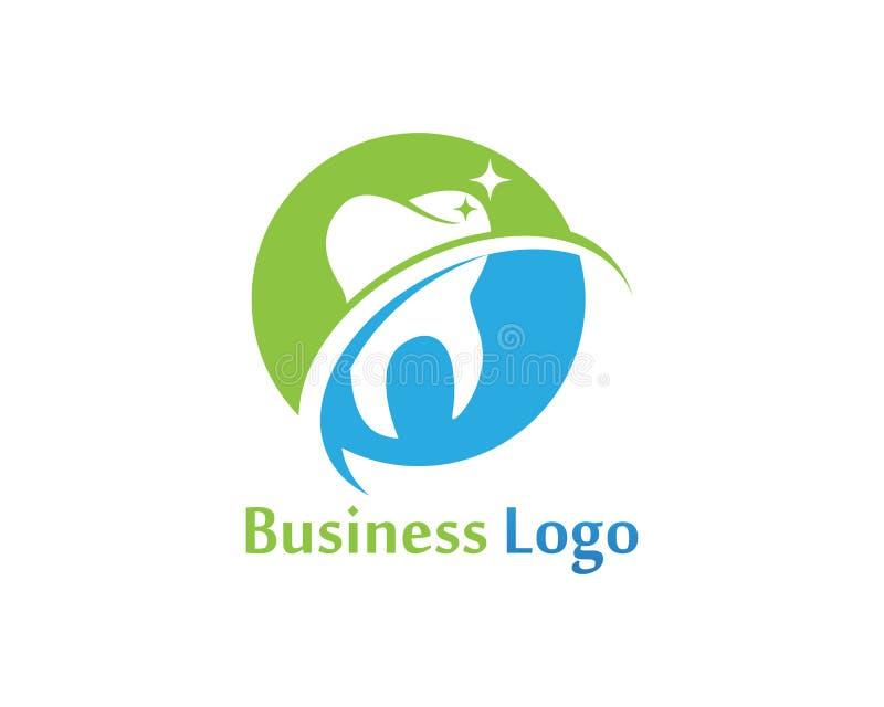 Download Logo Di Cure Odontoiatriche E Modello Di Vettore Di Simboli Illustrazione Vettoriale - Illustrazione di colla, marchio: 117977242