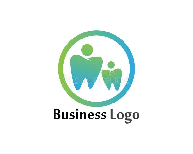 Download Logo Di Cure Odontoiatriche E Modello Di Vettore Di Simboli Illustrazione Vettoriale - Illustrazione di colla, radice: 117977367