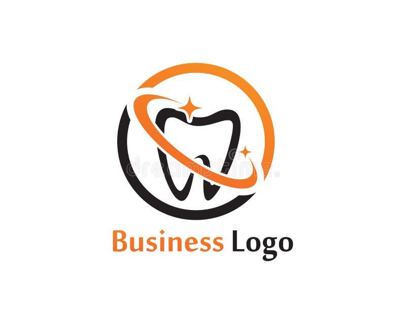 Download Logo Di Cure Odontoiatriche E Modello Di Vettore Di Simboli Illustrazione Vettoriale - Illustrazione di colla, assegno: 117977410