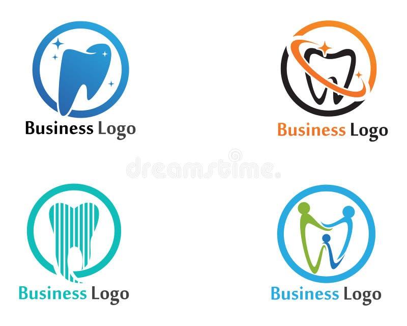 Download Logo Di Cure Odontoiatriche E Modello Di Vettore Di Simboli Illustrazione Vettoriale - Illustrazione di carattere, marchio: 117977413