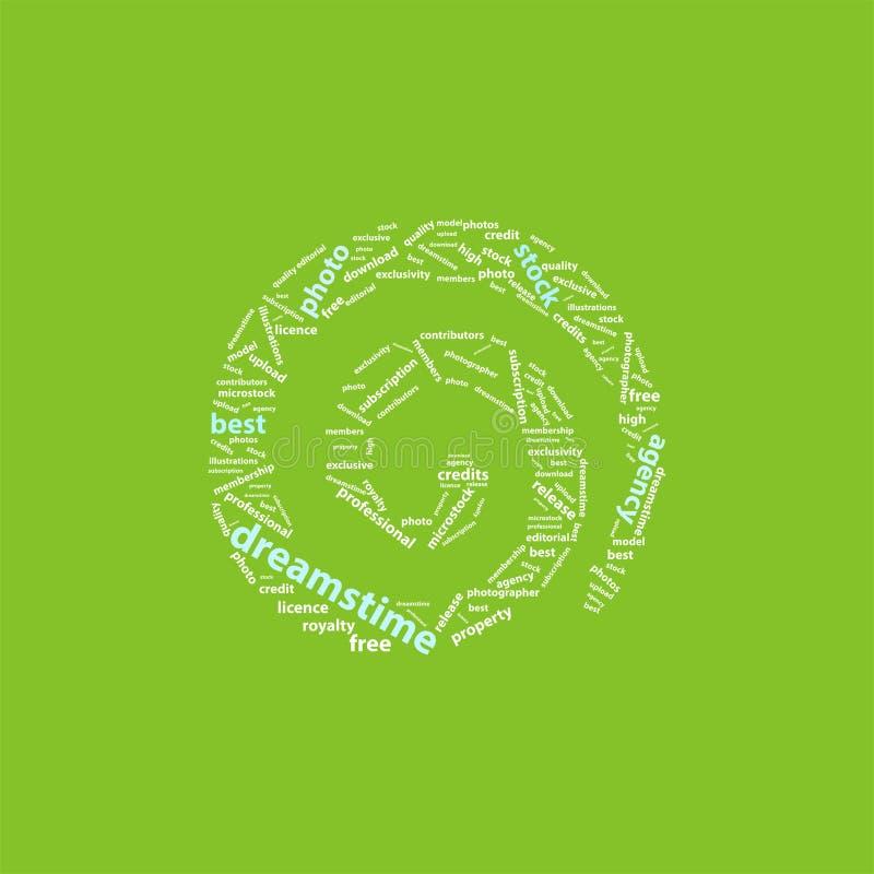 Logo di Dreamstime illustrazione di stock