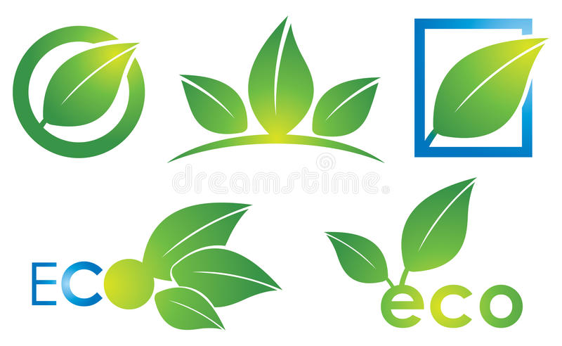 Logo di Eco illustrazione vettoriale
