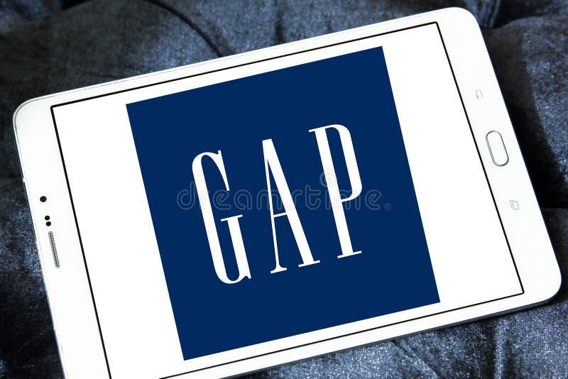 Logo di Gap immagine stock